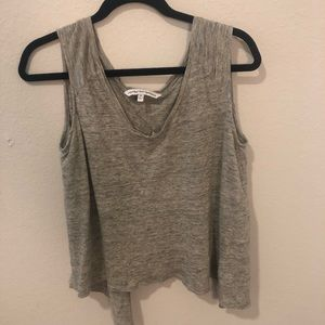 Cupcakes & cashmere gray top